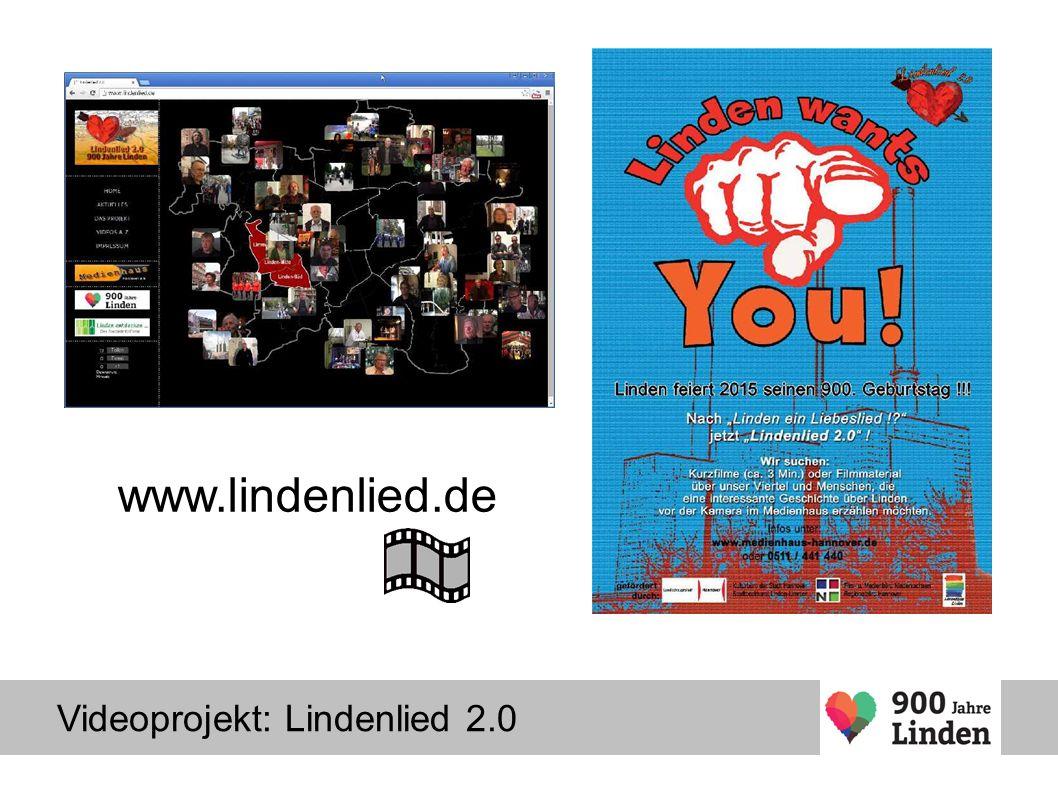 Videoprojekt: Lindenlied 2.0 www.lindenlied.de