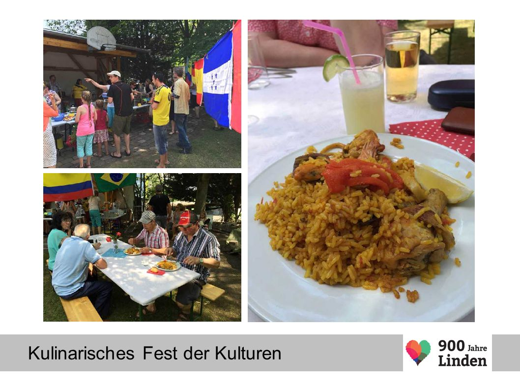 Kulinarisches Fest der Kulturen