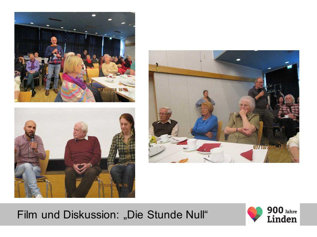 """Film und Diskussion: """"Die Stunde Null"""