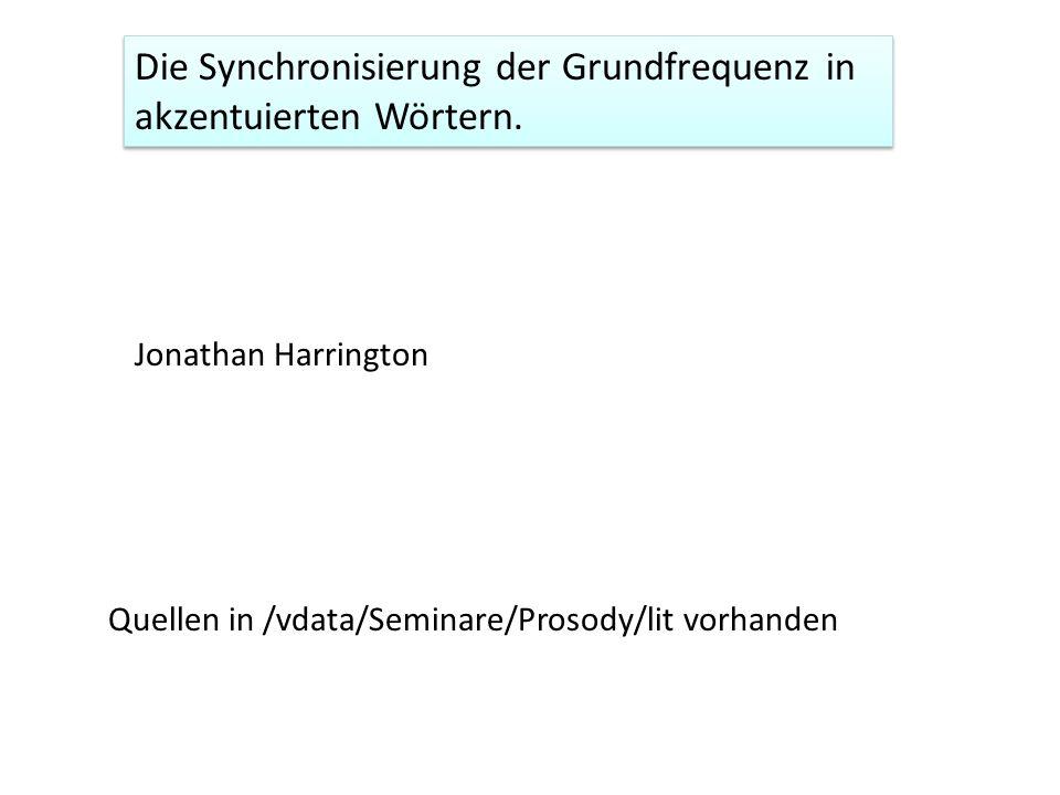 Lexikalischer Wortakzent: Schwedisch Semantik: Deutsch, Englisch Syntax (Aussage/Frage): Italienisch, Russisch Phonologische Faktoren in der Synchronisierung