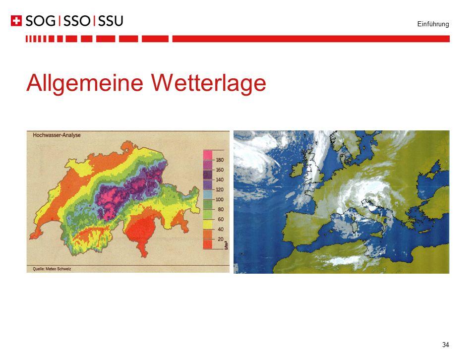 34 Einführung Allgemeine Wetterlage