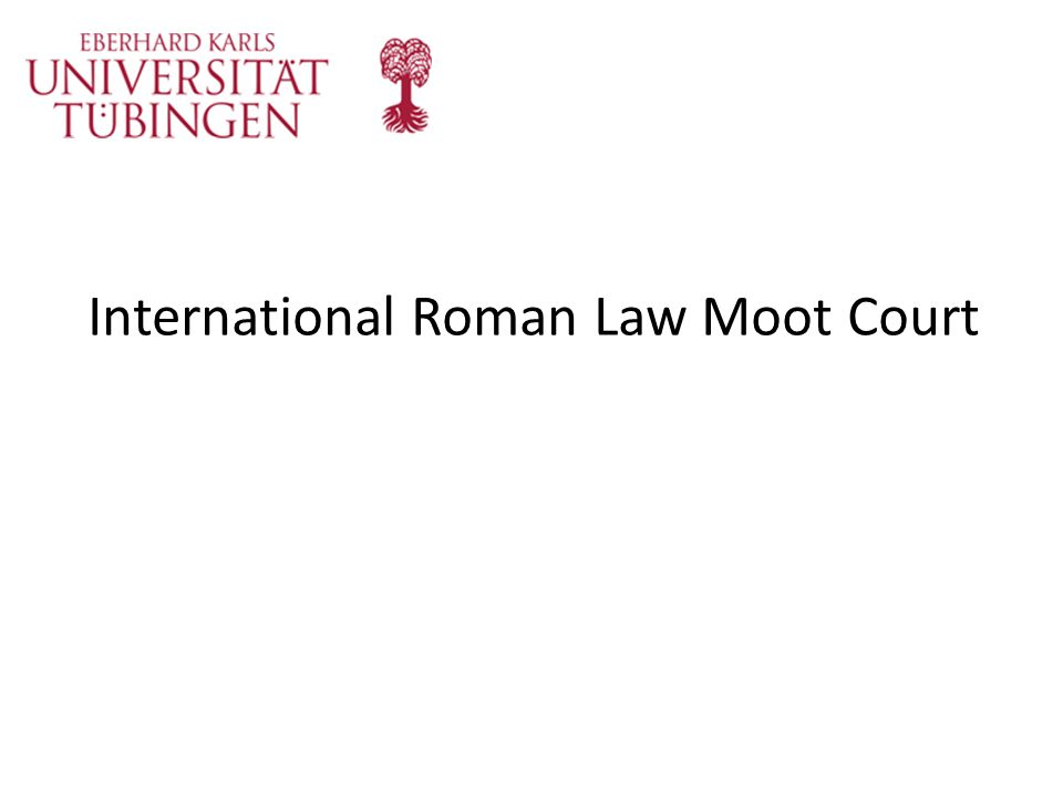 International Roman Law Moot Court