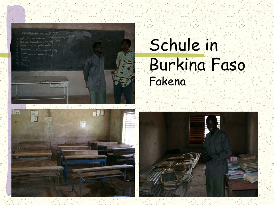 Schule in Burkina Faso Fakena