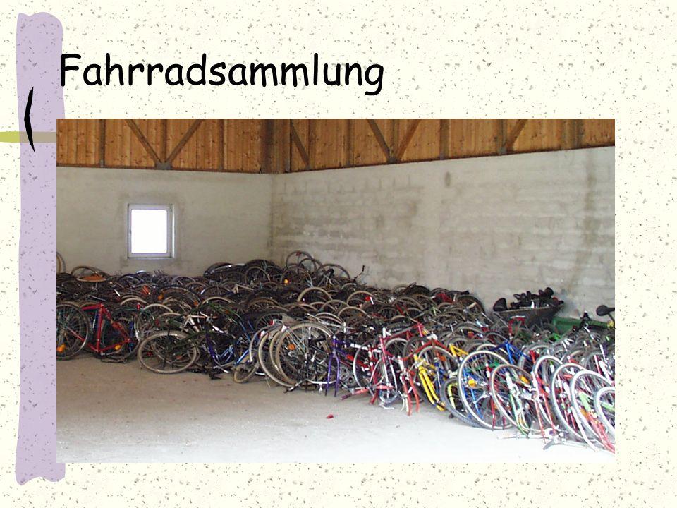 Fahrradsammlung