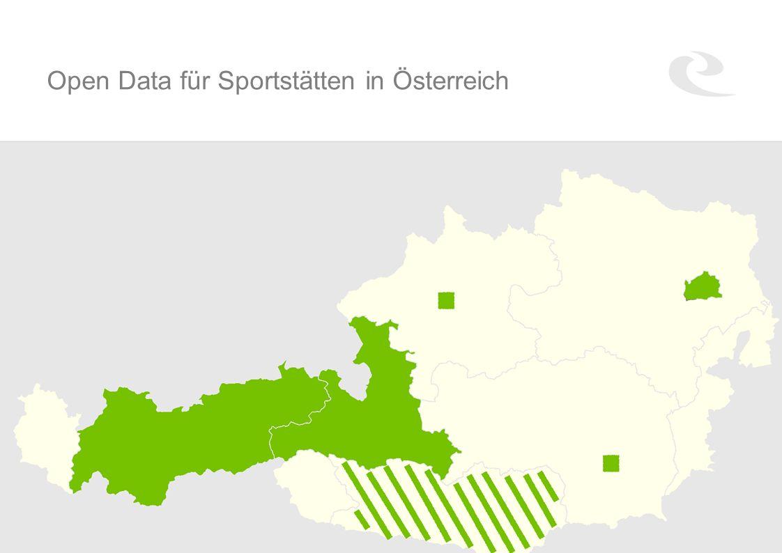 Open Data für Sportstätten in Österreich