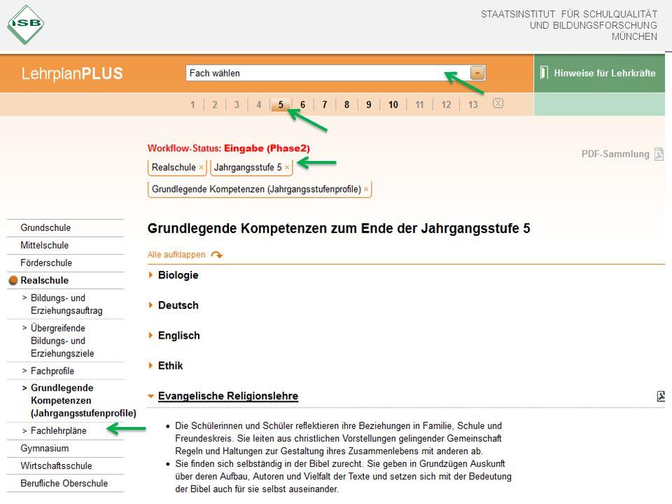 STAATSINSTITUT FÜR SCHULQUALITÄT UND BILDUNGSFORSCHUNG MÜNCHEN PDF erstellen Drucken Weiterempfehlen