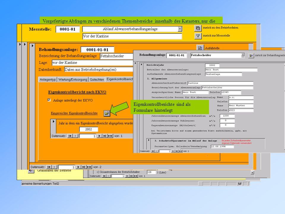 Zusätze/Besonderheiten Wiedervorlagefunktion Hyperlinks Vorgefertigte Abfragen Hier kann eine Wiedervorlagefrist eingetragen werden Bei Ablauf der ein