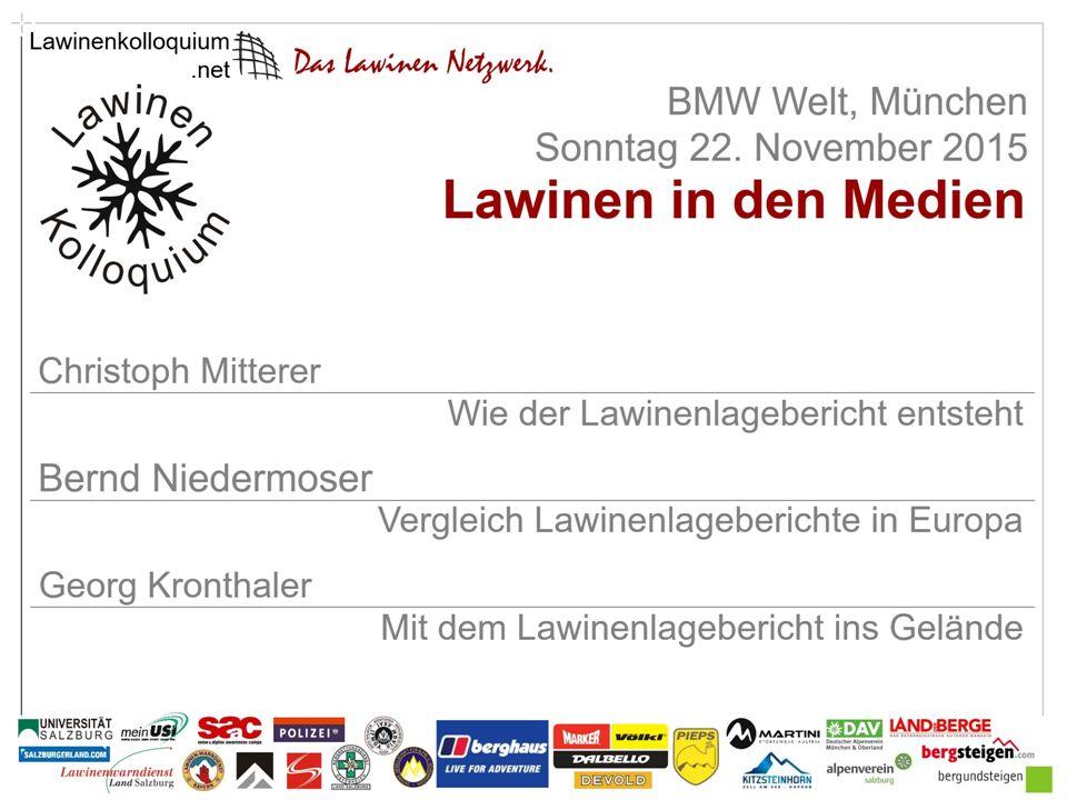 Christoph Mitterer Wie der Lawinenlagebericht entsteht Lawinenprognostiker, Mitarbeiter der Lawinenwarnzentrale Bayern Titelfolie Zenke Fotograf www.lawinenwarndienst-bayern.de