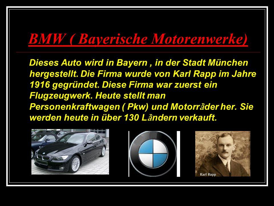 Die 1.Gruppe : Mercedes Die 1. Aufgabe p Lest folgende kleine Texte.