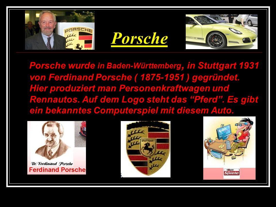 Volkswagen VW ( Volkswagenwerk ) wurde 1937 in Wolfsburg, in Niedersachsen gegründet Marius van Fielingsdorf ist der Gründer.