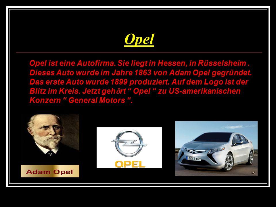 Porsche Porsche wurde in Baden-Württemberg, in Stuttgart 1931 von Ferdinand Porsche ( 1875-1951 ) gegründet.