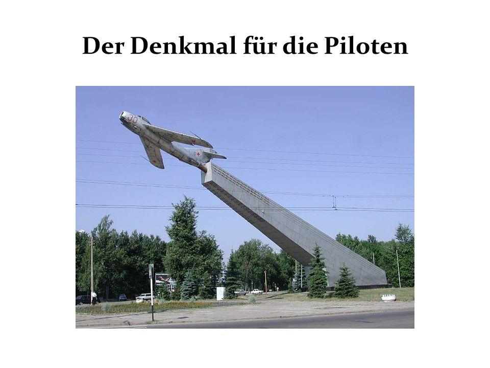 Der Denkmal für die Piloten