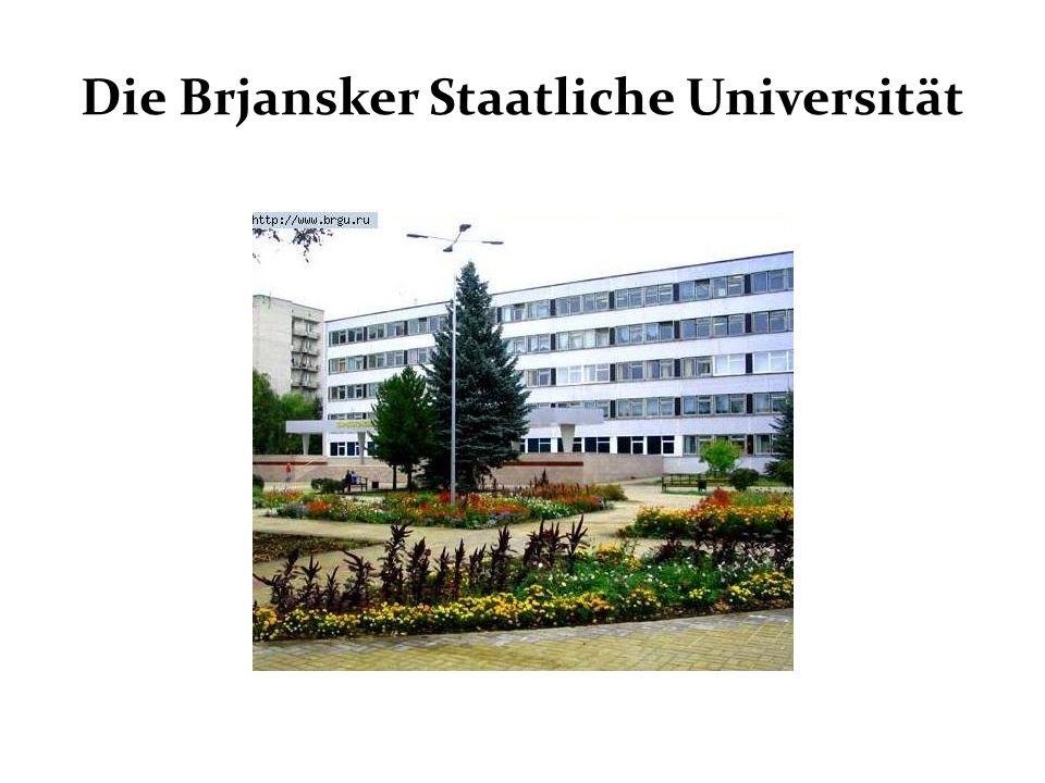 Die Brjansker Staatliche Universität