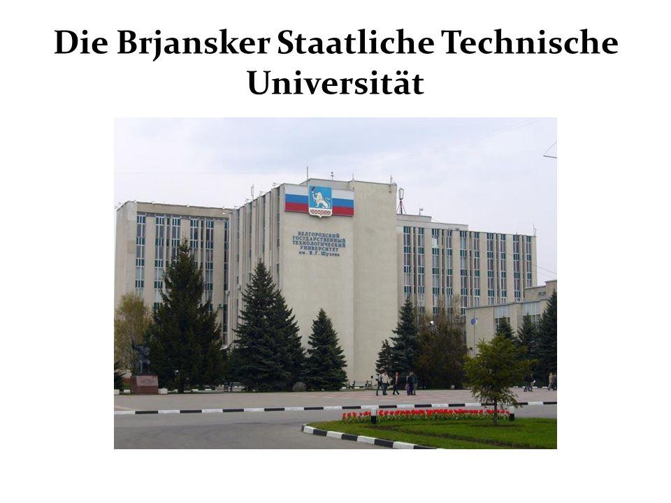 Die Brjansker Staatliche Technische Universität