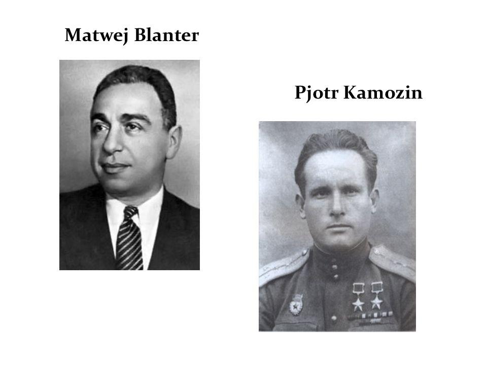 Matwej Blanter Pjotr Kamozin
