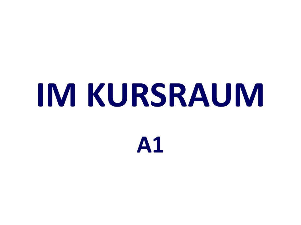 IM KURSRAUM A1