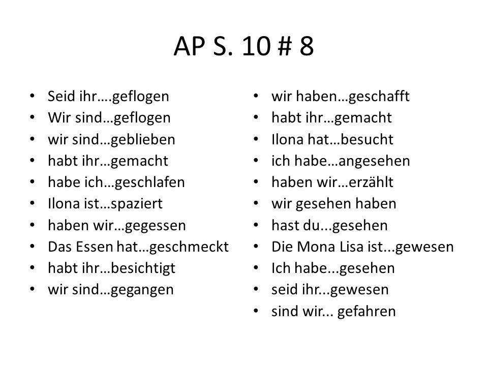 AP S.