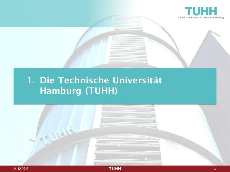 3 14.12.2015 1.Die Technische Universität Hamburg (TUHH)