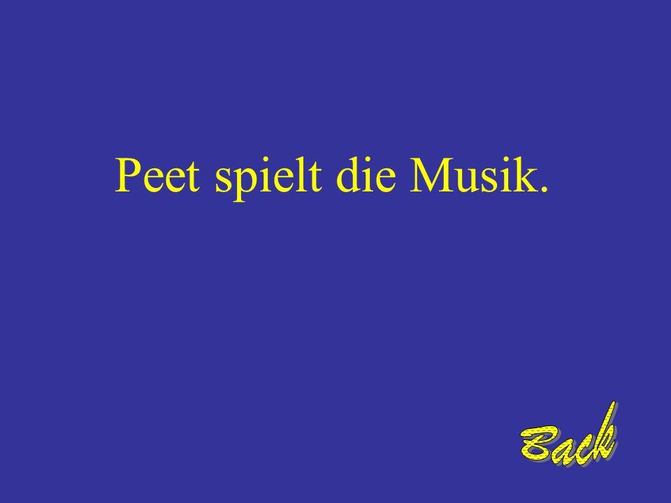 Wer spielt die Musik