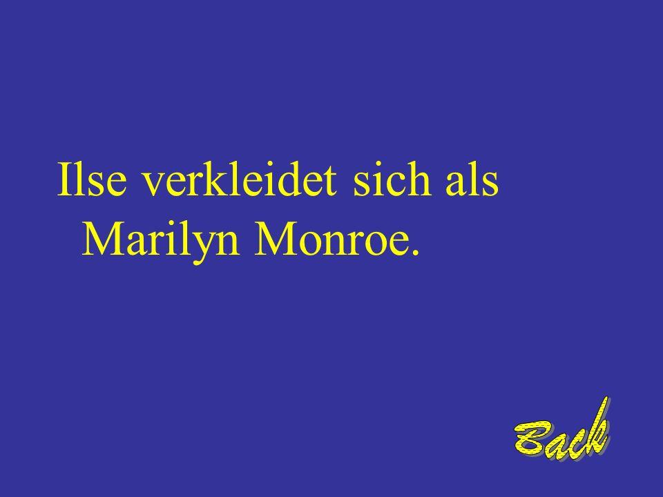 Wer ist als Marilyn Monroe verkleidet