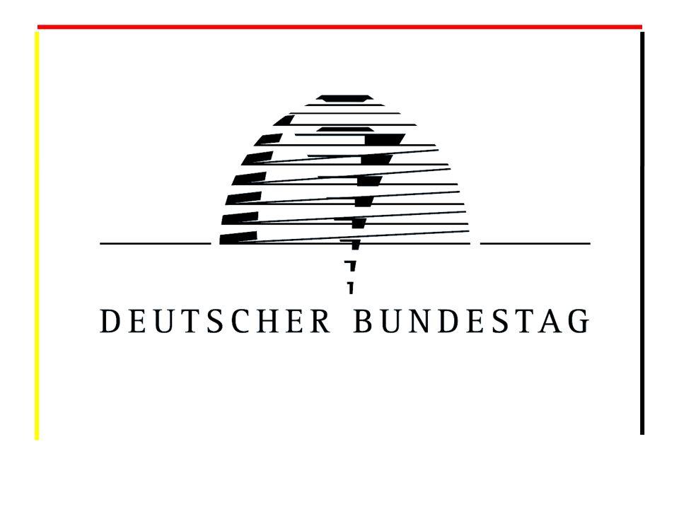 So arbeitet der deutsche Bundestag Der Deutsche Bundestag repräsentiert das Volk und ist eine non profit Organisation .