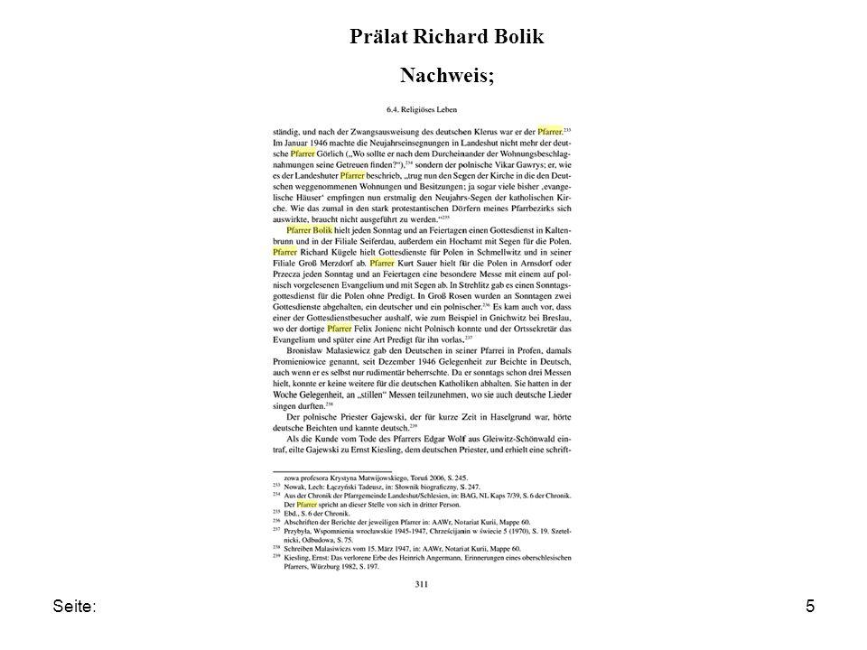 Seite:5 Prälat Richard Bolik Nachweis;
