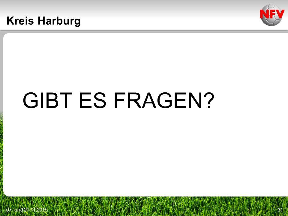 07. und 21.11.201531 Kreis Harburg GIBT ES FRAGEN?