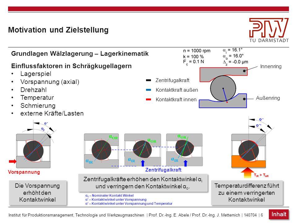 Institut für Produktionsmanagement, Technologie und Werkzeugmaschinen | Prof. Dr.-Ing. E. Abele / Prof. Dr.-Ing. J. Metternich | 140704 | 6 Zentrifuga