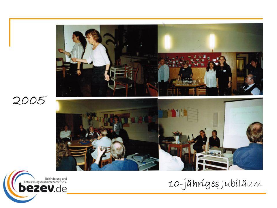 10-jähriges Jubiläum 2005