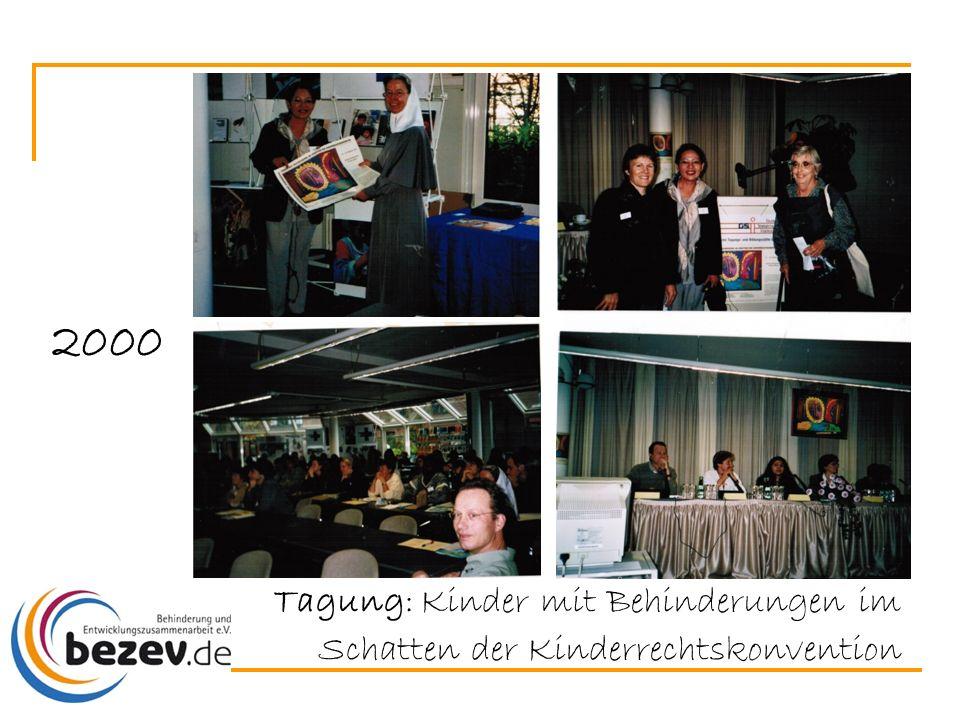 2000 Tagung: Kinder mit Behinderungen im Schatten der Kinderrechtskonvention