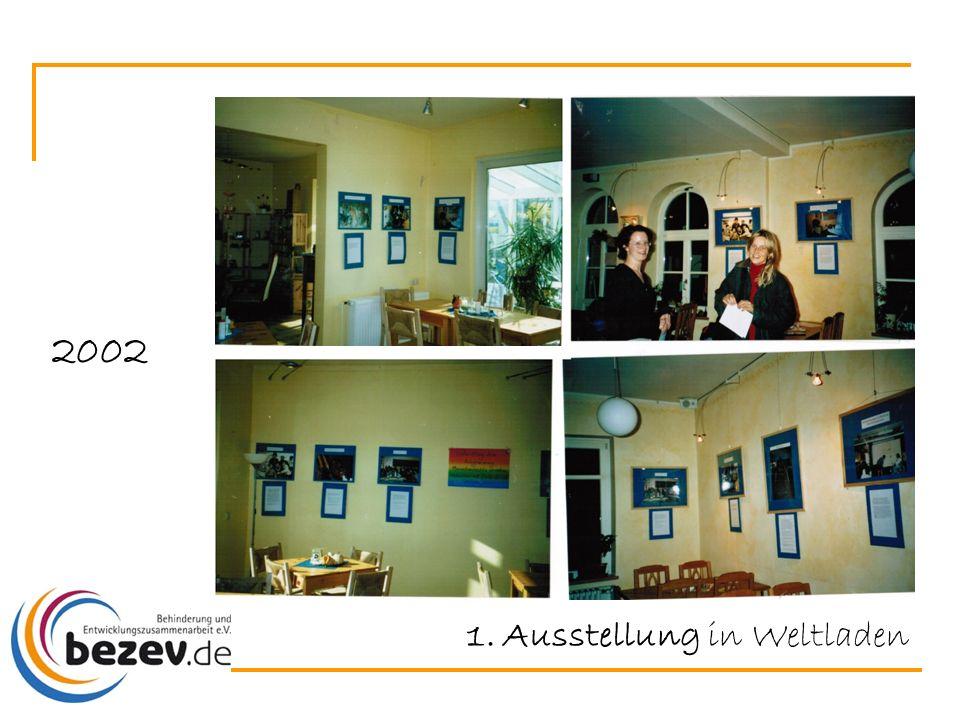 2002 1.Ausstellung in Weltladen