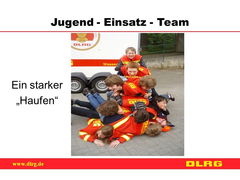 """www.dlrg.de Jugend - Einsatz - Team Ein starker """"Haufen"""""""