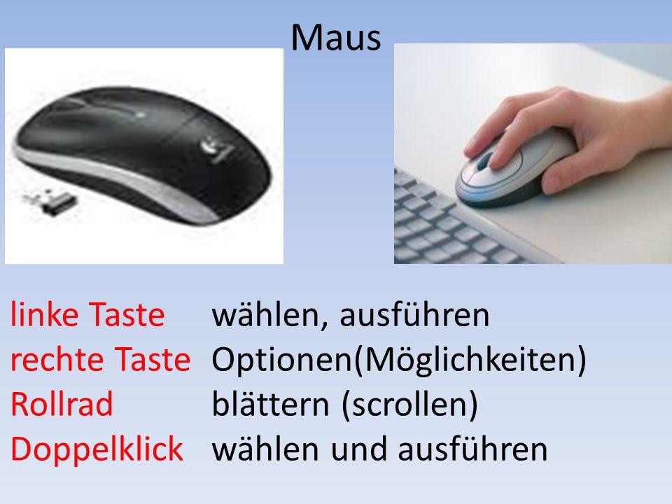 Tastatur Wichtiges zur Tastatur.docx Ausprobieren mit Wordpad