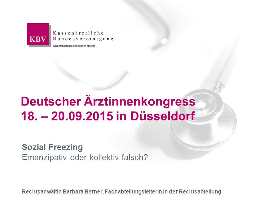  Deutscher Ärztinnenkongress19.09.201512