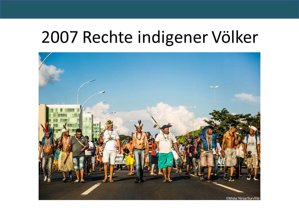2007 Rechte indigener Völker