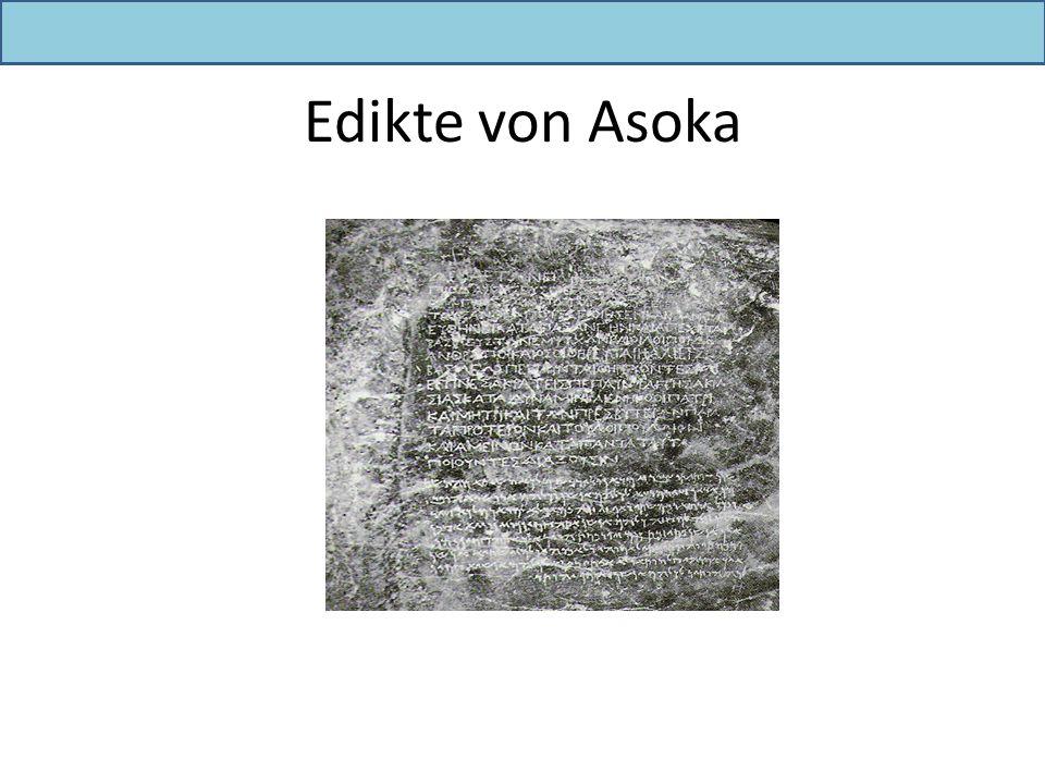 Edikte von Asoka