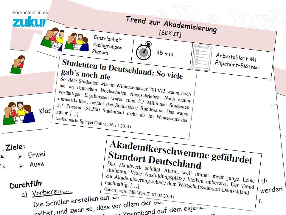 8 Materialien Teil 2 für Vor- und Nachbereitung - für Schulen - Wird noch erweitert: www.berufsorientierung.bi ldung-rp.de/schulen/tag- der-berufs-und