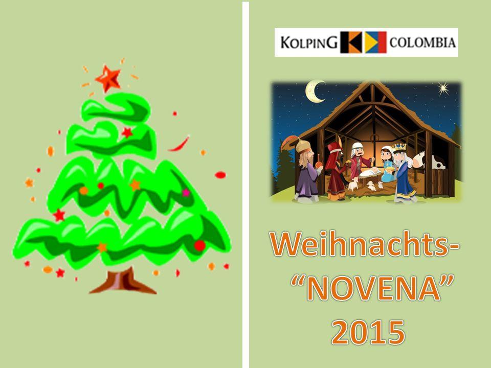 PRäSENTAtioN Ursprung der Weihnachts- NOVENA in kolumbien Jedes Jahr zwischen dem 16.