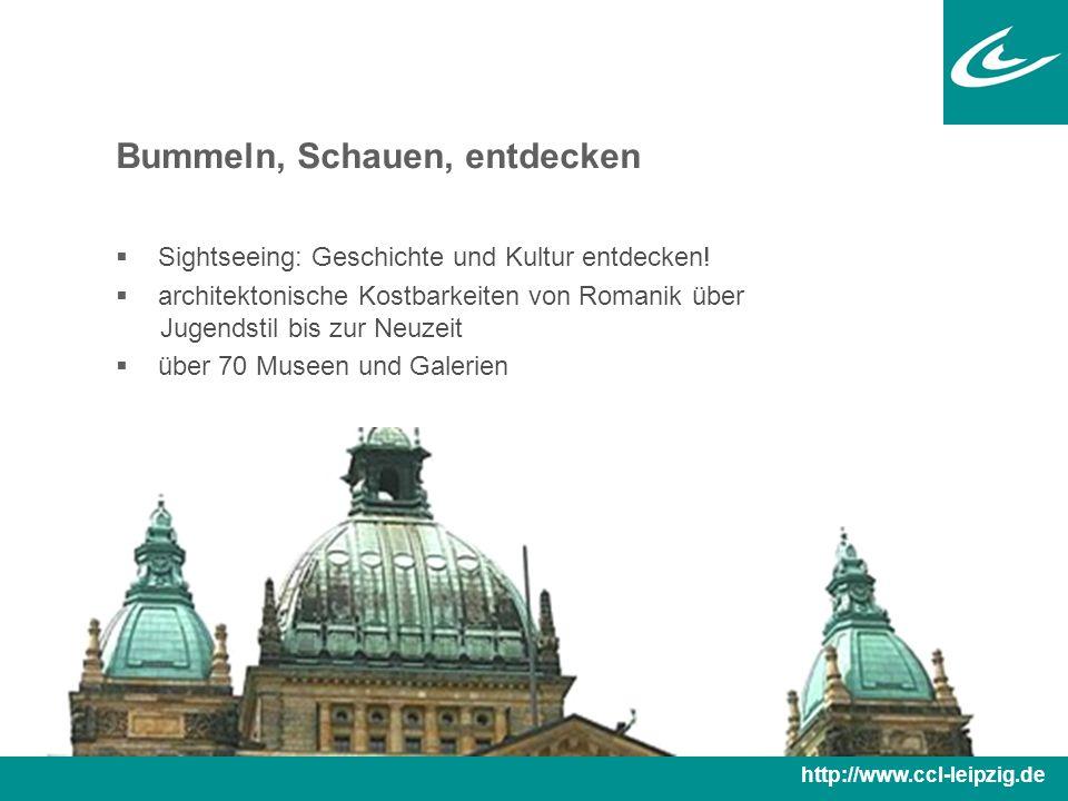 Bummeln, Schauen, entdecken  Sightseeing: Geschichte und Kultur entdecken.