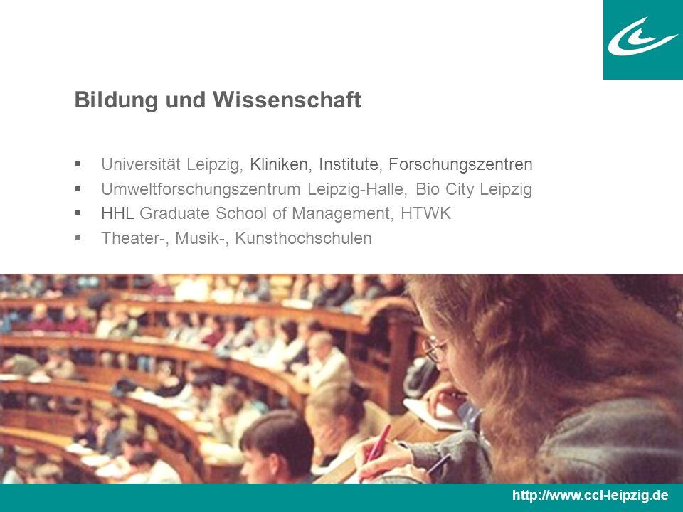 Bildung und Wissenschaft 2009: Eröffnung des neuen Universitätscampus im Stadtzentrum http://www.ccl-leipzig.de