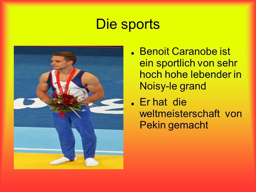 Die sports Benoit Caranobe ist ein sportlich von sehr hoch hohe lebender in Noisy-le grand Er hat die weltmeisterschaft von Pekin gemacht