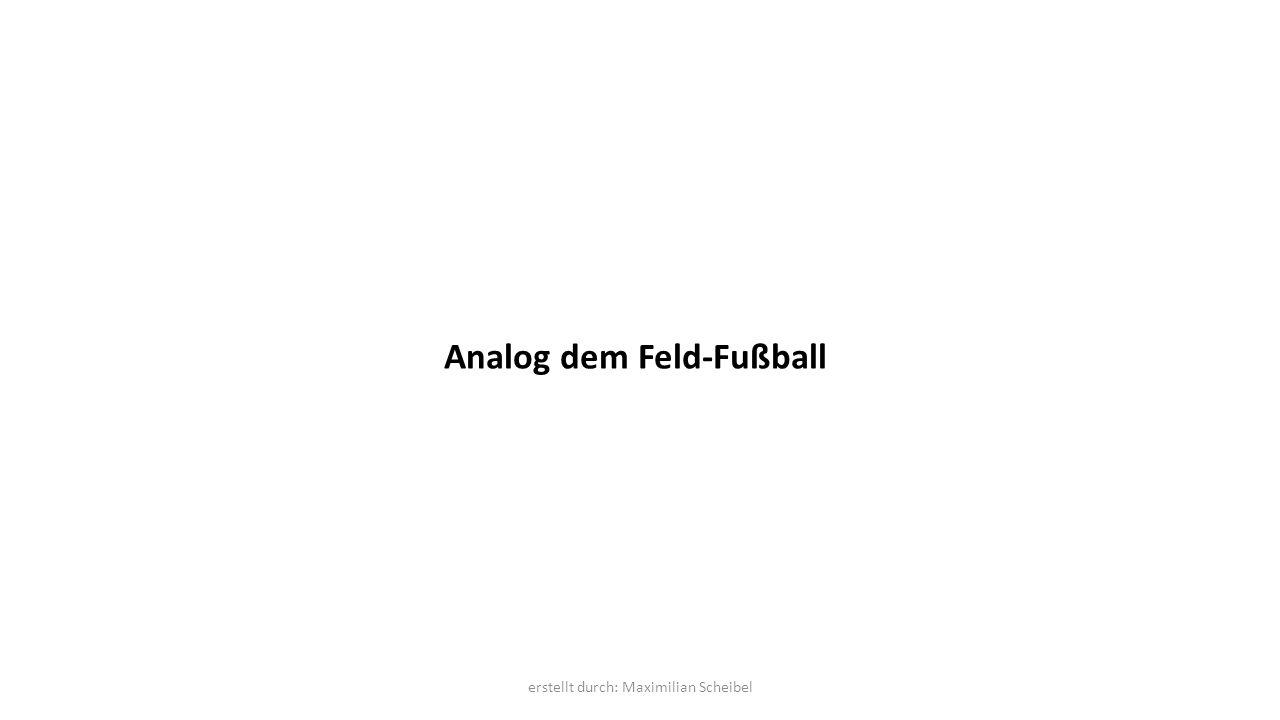Analog dem Feld-Fußball erstellt durch: Maximilian Scheibel