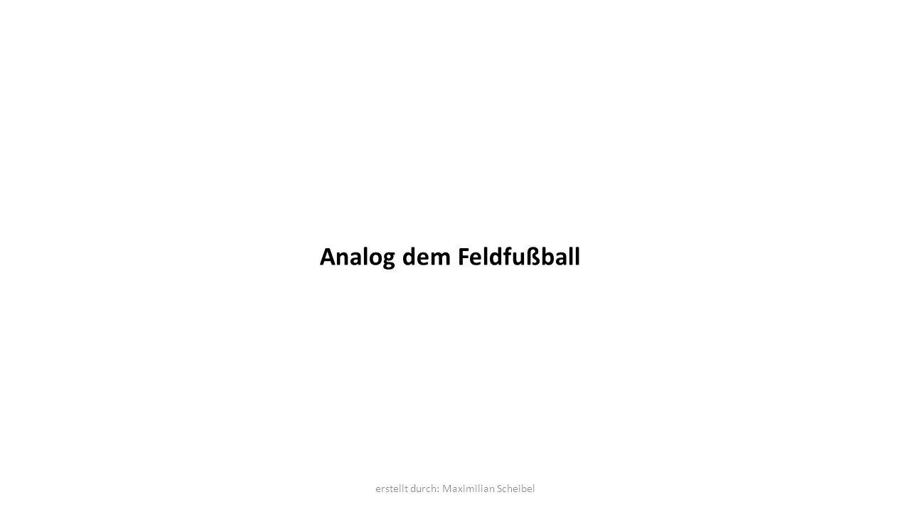 Analog dem Feldfußball erstellt durch: Maximilian Scheibel