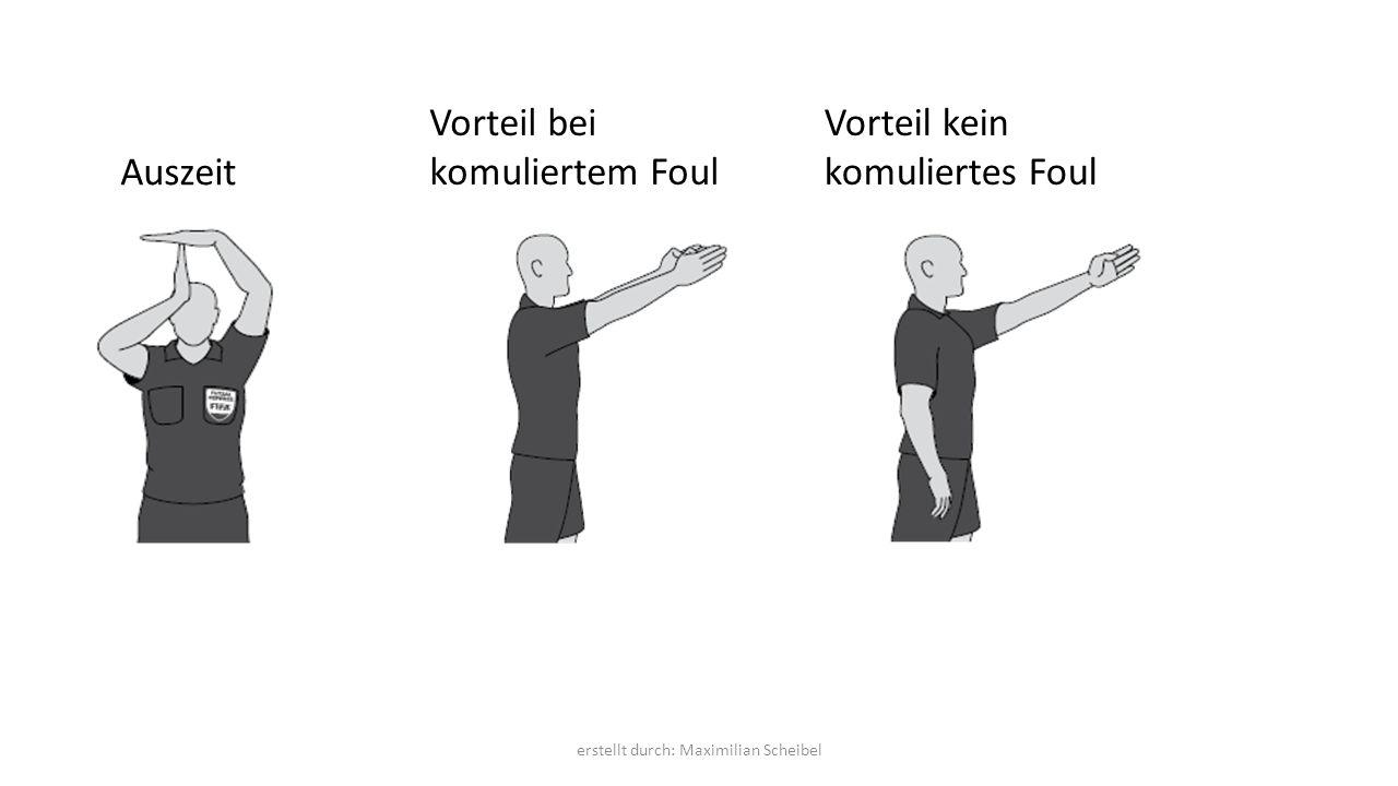 Auszeit Vorteil bei komuliertem Foul Vorteil kein komuliertes Foul erstellt durch: Maximilian Scheibel