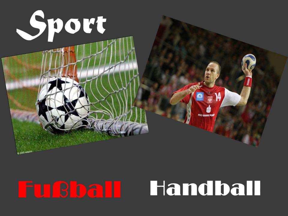 Sport Fußball Handball