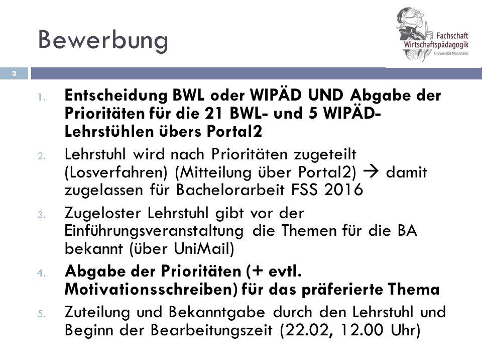 """Zeitplan 4 1.12.'15 - 3.1.'16 Anmeldefrist für den Bereich """"WIPÄD o."""