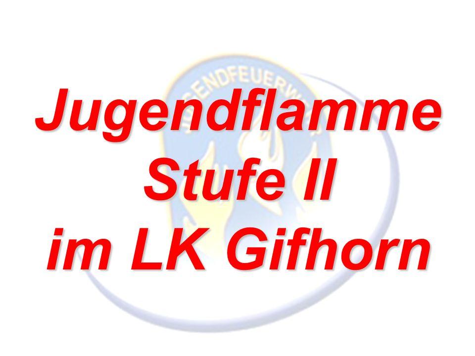 2 Jugendflamme Stufe II Neue Bewertungen der Jugendflamme Stufe II für die Abnahme im Landkreis Gifhorn.