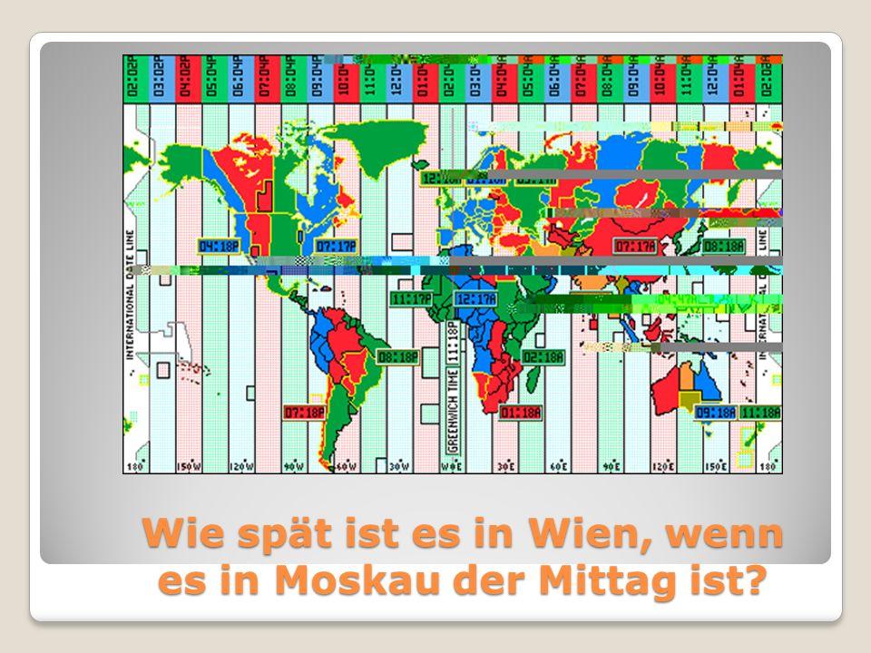 An welchem Fluß liegt Wien?