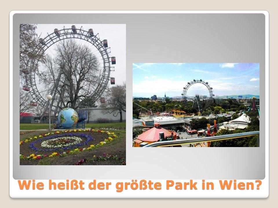 Wie heißt der größte Park in Wien?