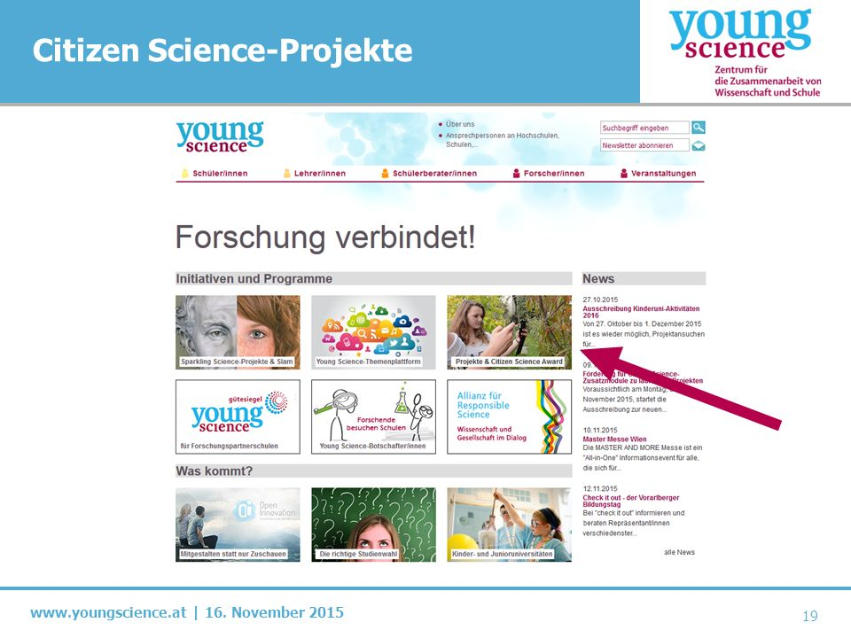 www.youngscience.at | 16.